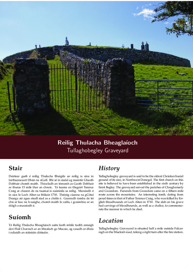Tullaghobegley Graveyard