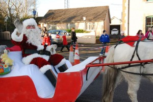 Santa sa t-Sean Bheairic 6th December 2014