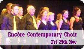 Encóre Contemporary Choir, Nov. 29th
