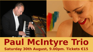 Paul McIntyre Trio 30th August 2014