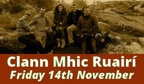 Clann Mhic Ruairí, 14ú Samhain 2014