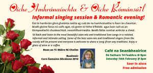 Informal singing session & Romantic evening!