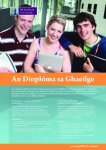 Dioplóma sa Ghaeilge C1